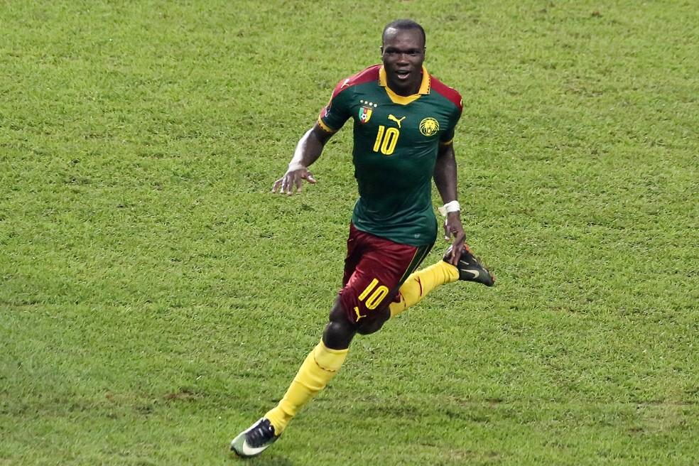 O camisa 10 Aboubakar é esperança de gols para Camarões (Foto: AFP)