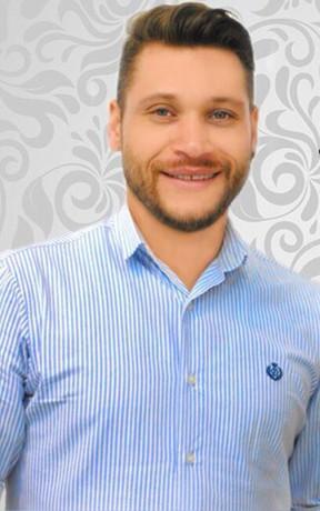 Júlio Figueiredo, cabeleireiro de Ana Hickmann (Foto: Arquivo pessoal)