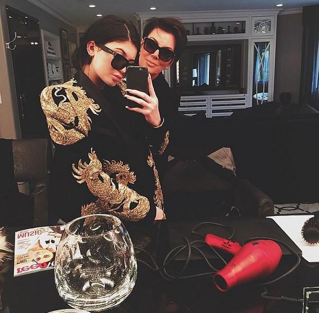 Kylie e Kris Jenner (Foto: Reprodução / Instagram)