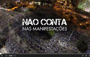 'Não Conta nas manifestações': assista ao documentário