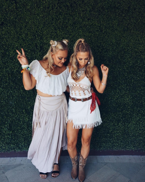 Coachella 2017 (Foto: Reprodução/Instagram @kianafielding )