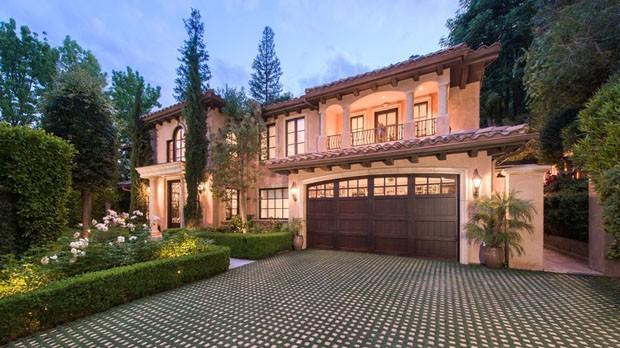 Casa de Kim Kardashian com o ex, Kris Humphries, está a venda por US$ 5.5 milhões (Foto: divulgação)