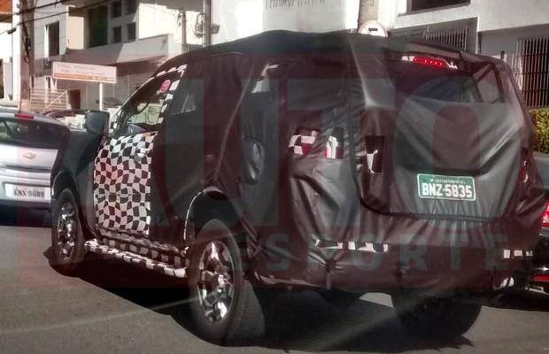 Flagra-nova-Chevrolet-Trailblazer (Foto: Teo Franco )