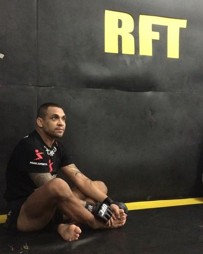 Luiz Besouro, TUF Brasil, MMA, RFT (Foto: Adriano Albuquerque)