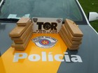 Menor é apreendida com 10 quilos de maconha em ônibus em Rio Preto