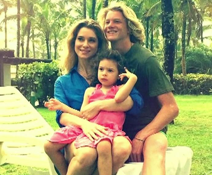 Letícia Spiller tem dois filhos, mas descarta possibilidade de aumentar a prole (Foto: TV Globo)