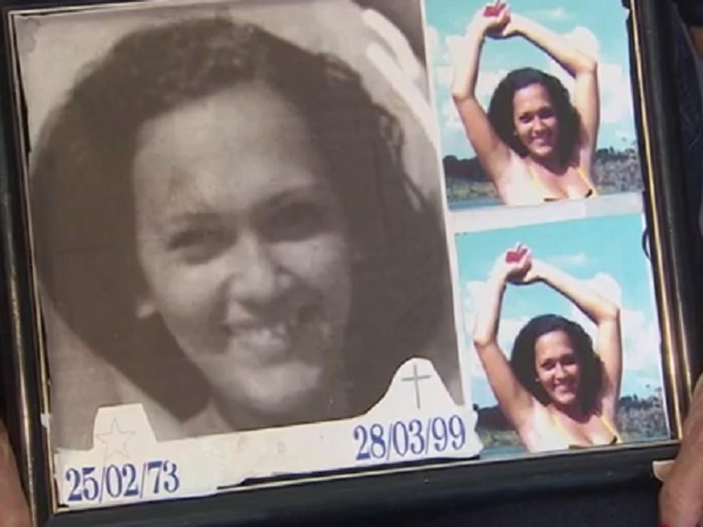 Elizeuda Freitas foi morta com 27 facadas em março de 1999 (Foto: Reprodução/Rede Amazônica)