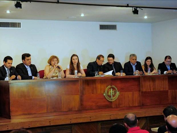 Assinatura da ação ocorreu nesta quarta-feira, em Manaus (Foto: Nathalie Brasil/SECOM)