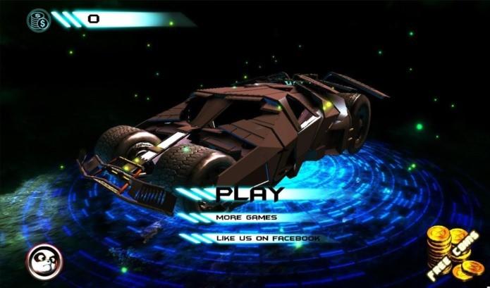 Jogo para Android reune os carros dos super-heróis (Foto: Divulgação)