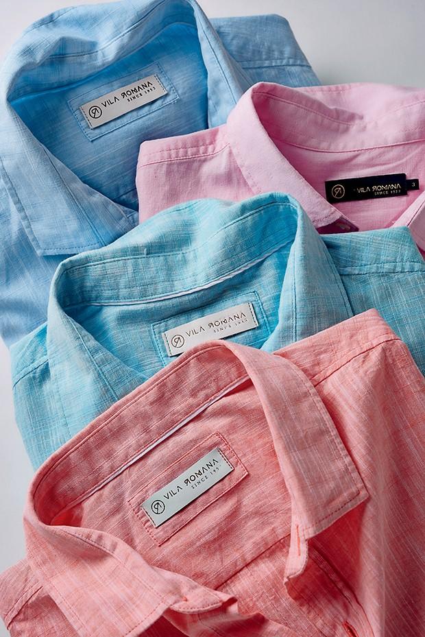 Camisas       Vila Romana R$ 239 (cada) (Foto: Divulgação)