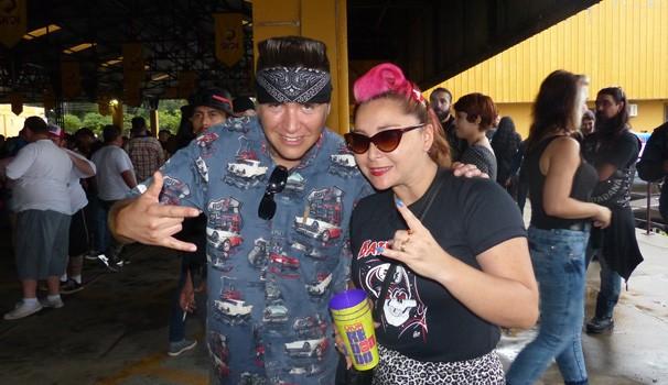 A galera do rock também aproveita o Carnaval, em Curitiba (Foto: Divulgação/ RPC)