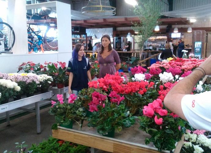 Florista catarinense é considerada uma das melhores do mundo (Foto: RBS TV/Divulgação)