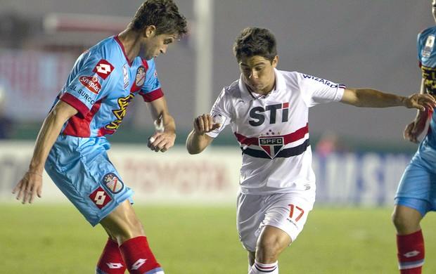 Osvaldo São Paulo Arsenal de Sarandí Libertadores (Foto: EFE)