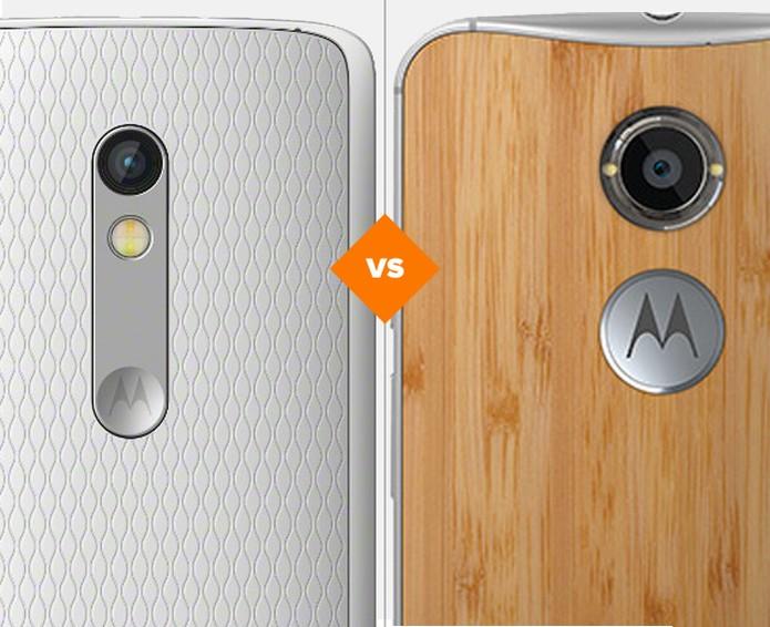 Moto X Play ou Moto X 2014? Qual é o melhor? (Foto: Arte/TechTudo)
