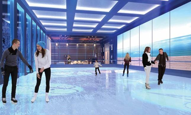 Rink de patinação