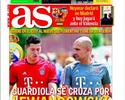 Copa do Rei? Neymar? Lewandowski e Ronaldinho viram manchete na Espanha