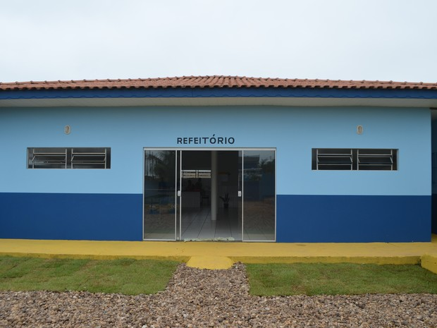 Escola Jamil Vilas Boas Ji-Paraná (Foto: Pâmela Fernandes/G1)