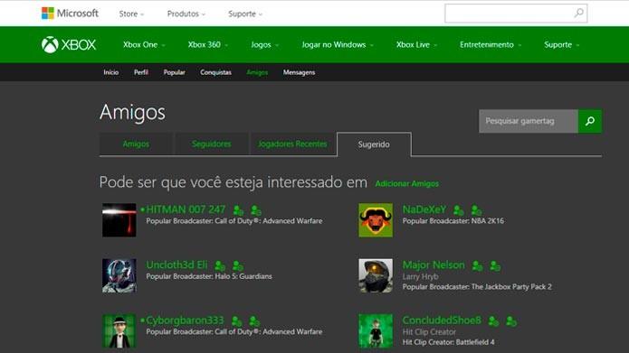 Confira como adicionar amigos no Xbox Live pelo console e PC | Dicas