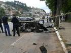 Homem morre em acidente de carro em Nova Friburgo, no RJ