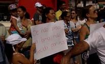 Atingidos pela barragem em Mariana protestam contra transferência de processos