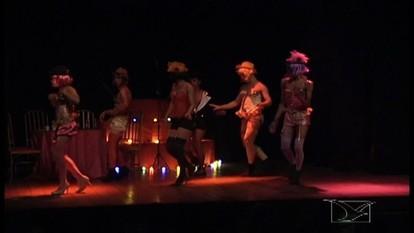 Espetáculo Cabaret é apresentado em Imperatriz