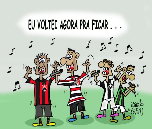 Eles Cantam Roberto Carlos-Charge Peters