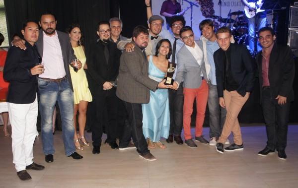 A Sin Comunicação levou quatro dos nove prêmios da noite, conquistando o título de 'Agência Criativa do Ano' (Foto: Daniel Sousa/ TV Cabo Branco)
