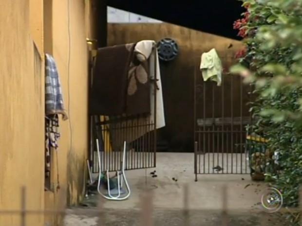 Crime foi no bairro Nova Trieste, em Jarinu (Foto: Reprodução/TV Tem)