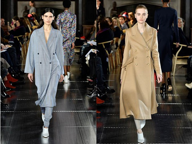 Double-breasted wool coats from Gabriela Hearst's Autumn/Winter 2017 collection (Foto: GABRIELA HEARST)