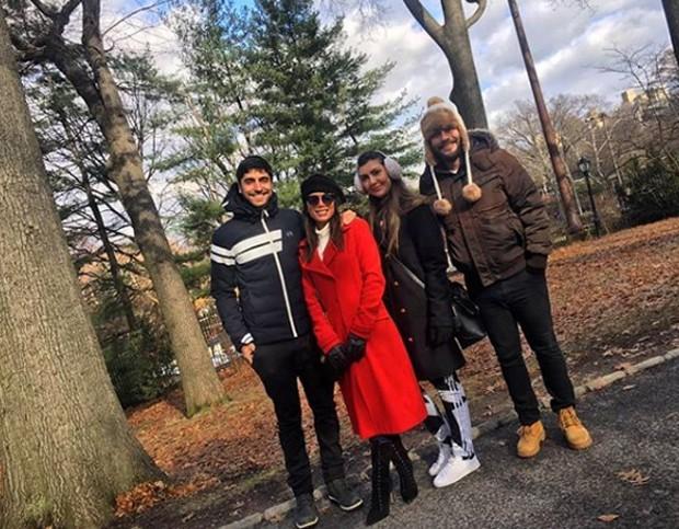 Anitta, Thiago Magalhães, Carina Liberato e Marcos Von Kilzer. (Foto: Reprodução/Instagram)