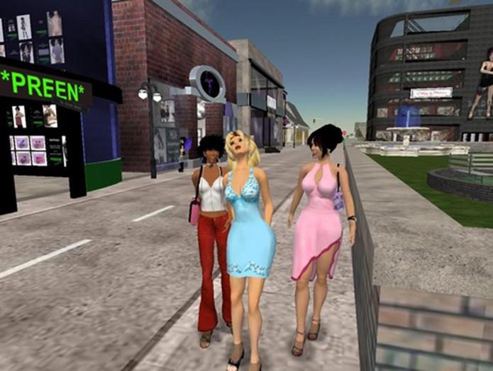 Second Life é um simulador online bastante popular na última década (Foto: Divulgação/Second Life) (Foto: Second Life é um simulador online bastante popular na última década (Foto: Divulgação/Second Life))