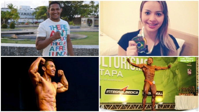 Atletas amapaenses dão dicas para não fugir da dieta no fim de ano (Foto: Arte/GE-AP)
