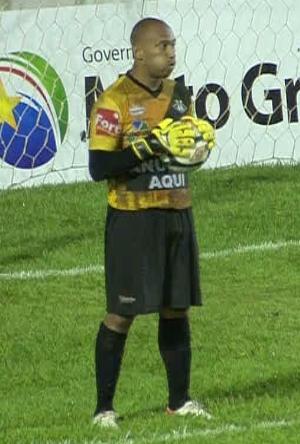 Goleiro Igor do Mixto (Foto: Reprodução/TVCA)