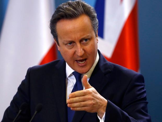 Primeiro-ministro, David Cameron, afirmou que crise de segurança tornou reformas na UE mais importantes (Foto: Kacper Pempel/ Reuters)