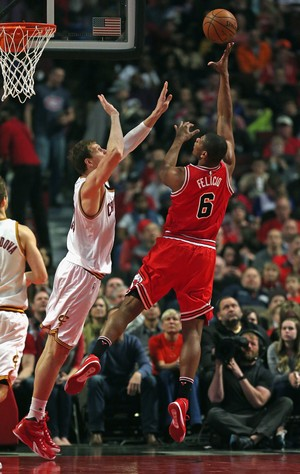 Cristiano Felício Chicago Bulls NBA Basquete (Foto: Getty Images)