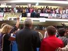 Sob protesto, plano de Educação é aprovado (Reprodução/TV Bahia)