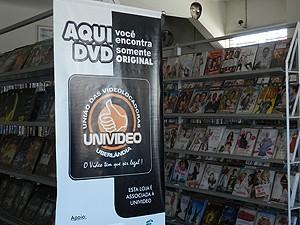 Locadoras de vídeo comemoram diminuição da pirataria em MG (Foto  Caroline  Aleixo G1 5a2c0963e6040