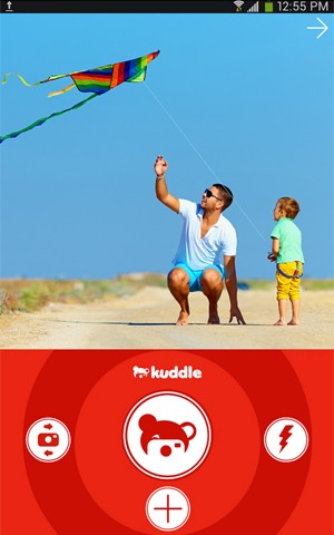 App Kuddle é Instagram 'para crianças' (Foto: Divulgação/Kuddle)