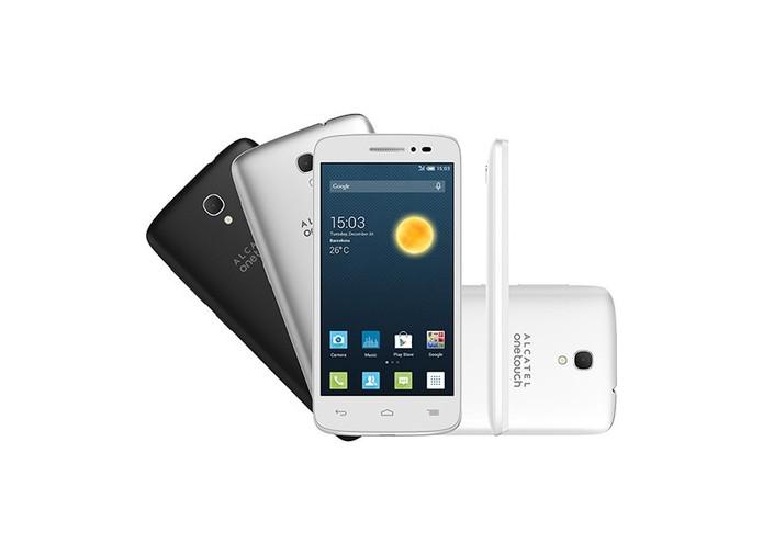 Alcatel POP2 tem conexão 4G e preço a partir de R$ 512. Foto: Divulgação.