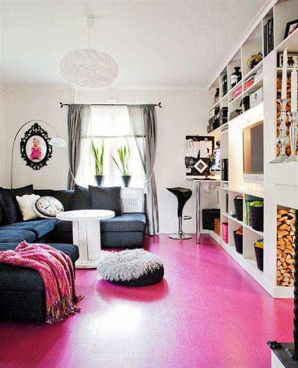 Sala De Estar Mais Linda Do Mundo ~ Do piso ao teto, 15 salas na cor rosa  Casa Vogue  Ambientes