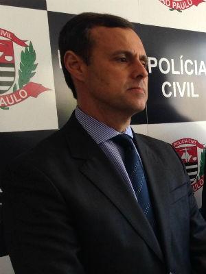 Delegado Urban falou sobre os inquéritos do Instituto Royal (Foto: Natália de Oliveira/G1)