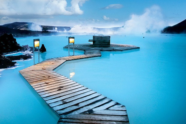 Parque termal Blue Lagoon (Foto: Creative Commons/Flickr)