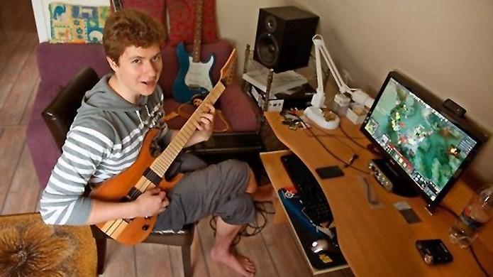Puppey se divide entre duas paixões: música e jogos (Foto: fuckyeahpuppey.tumblr.com)