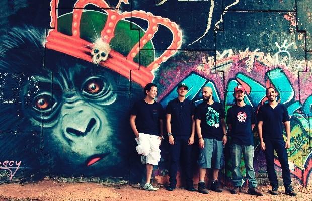 Chimpanzés de Gaveta lança single 'Las Putas Queridas de Mi Vida', que integra curta-metragem alemão, em Goiânia, Goiás (Foto: Gabi Barros/Divulgação)