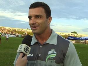 Júnior Rocha, treinador do Luverdense (Foto: Reprodução/TVCA)