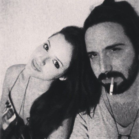 Aghata e o namorado, Pedro Nicoll (Foto: Reprodução)