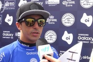 Miguel Pupo garante a sua vaga no round 3 do Rio Pro
