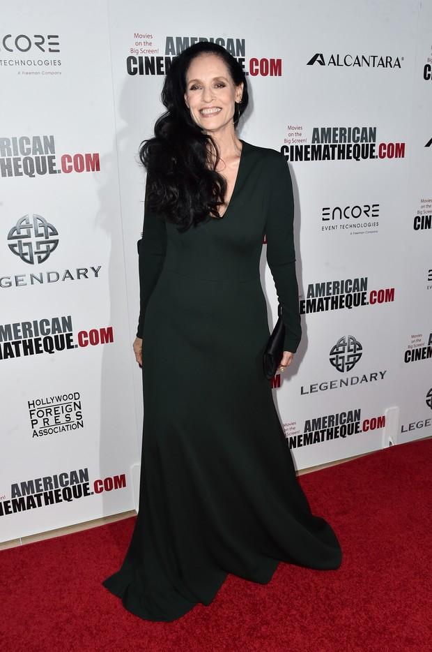 Sônia Braga em premiação de cinema em Los Angeles, nos Estados Unidos (Foto: Alberto E. Rodriguez/ Getty Images/ AFP)