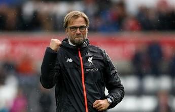 """Ferguson vê Liverpool competitivo e exalta Klopp: """"Personalidade forte"""""""