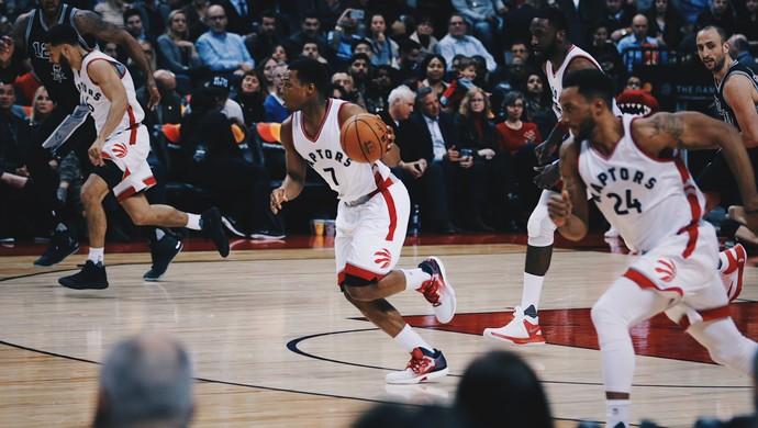 Toronto Raptors x San Antonio Spurs basquete NBA (Foto: Divulgação/Toronto Raptors)